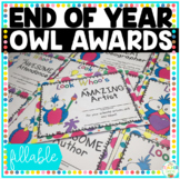 End of Year Awards Owls