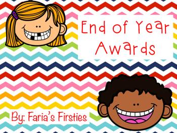End of Year Awards { FREEBIE! }