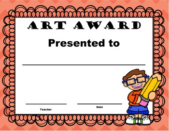 End of Year Awards Freebie