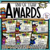 Superhero End of Year Awards