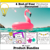 End of Year Awards, Memory Book, Summer Reading and Kindness Activity Bundle