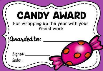 End of Year Awards (Party Theme) Editable