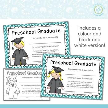 End of Year Awards – Preschool