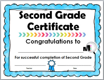 End of Year Awards – Promotion Certificates – Grade 2