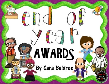 End of Year Awards (Science and Famous Figures Emphasis)
