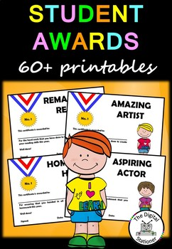 End of Year Awards/Student Awards – 60+ printables
