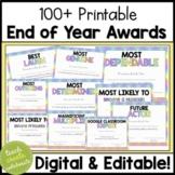 End of Year Awards & Superlatives | Digital Google Slides