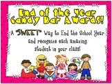 "End of Year ""Sweet"" Candy Bar Awards!"