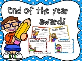 End of Year Awards W/ Descriptions