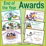 End of Year Awards (with computer-editable fields)