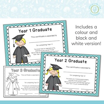End of Year Awards – Year 1, 2 and 3
