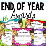 End of Year Awards for Primary Grades
