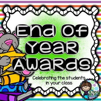 End of Year Awards (includes UK English awards)