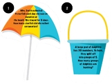 End of Year Beach Theme Multiplication/Division Task Cards