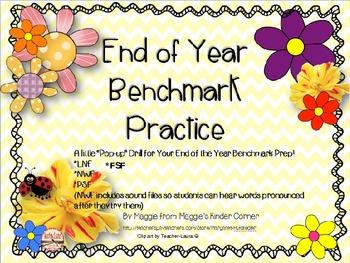 End of Year Benchmark Practice for Kindergarten