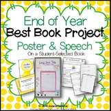 """End of Year """"Best Book Project"""" - Poster & Speech on Stude"""