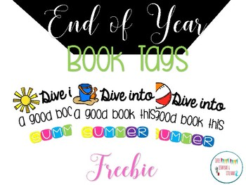 End of Year Book Tags