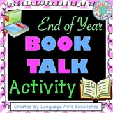 "End of Year ""Book Talk"" Activity"