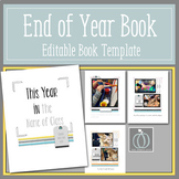 End of Year Book Template for Preschool