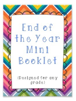 End of Year Booklet