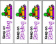 End of Year Bookmarks Editable