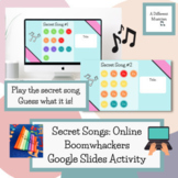 End of Year Boomwhacker Activity - Elementary Music - Google Slides