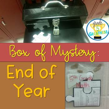 End of Year Box of Mystery