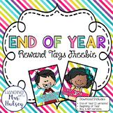 End of Year (Reward Tag Freebie)