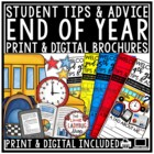 End of The Year Writing Activity Brochure