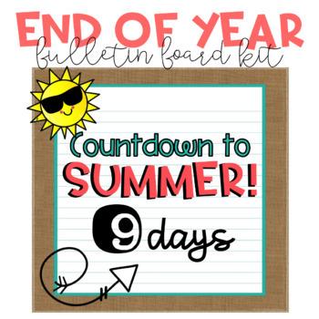 End of Year Bulletin Board Kit