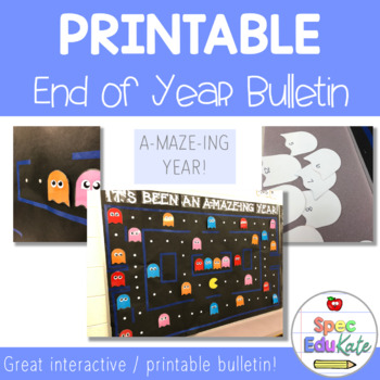 End of Year Bulletin - Pacman