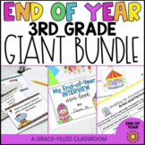 3rd Grade End of Year Math and ELA GIANT Bundle
