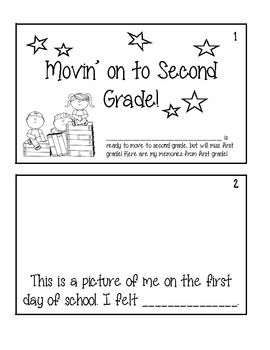 End of Year Bundle for 1st Grade: Writings, Class Books, M