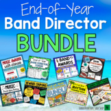 End of Year Bundle for Band Directors