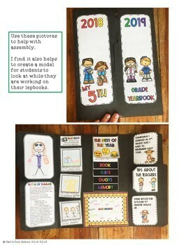 End of Year Bundle with Lapbook and Mini-Book
