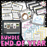 End of Year Bundle with Last Week of School Activities, Theme Days, and Plans