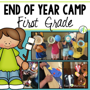 End of Year Camp Unit for FIRST GRADE - Critter Theme