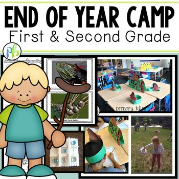 End of Year Camp Unit for First and Second Grade