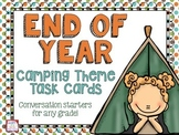End of Year Camping Theme Task Cards