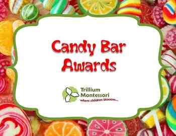 EDITABLE- End of Year Candy Bar Awards