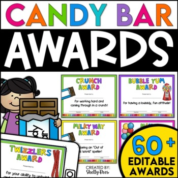 End of Year Awards - Candy Bars