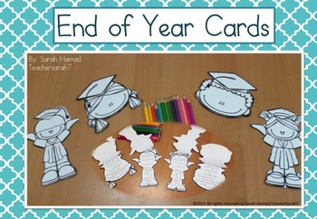 End of Year Cards