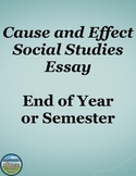 End of Year Cause and Effect Essay