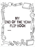 End of Year - Celebration of Learning Flip Book with ELA content review & games