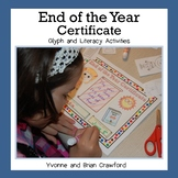 End of the Year Certificate Glyph