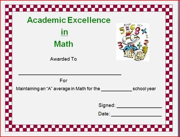 End-of-Year Certificates