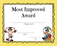 End of Year Certificates