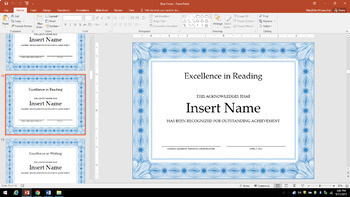 End of Year Award Certificates! Editable! (144 Possibilities!)