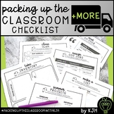 End of Year Checklist and Planners