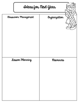 End of the Year Checklists FREEBIE